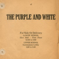Purple and White - advertisement 2