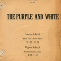 Purple and White - advertisement 3